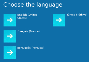 Choix langues boot Windows