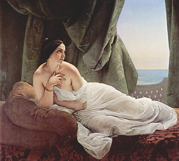 Odalisque de Francesco Hayez