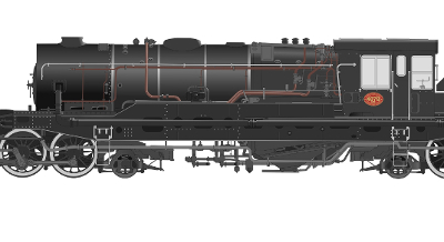locomotive faite avec Inkscape